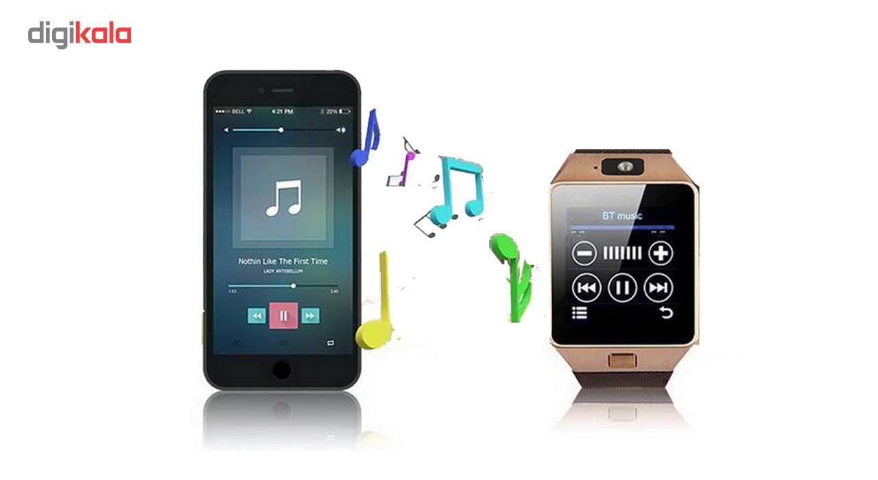 خرید ساعت هوشمند مدل DZ09 همراه باتری اضافه هدیه