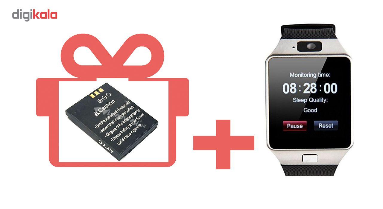 ساعت هوشمند مدل DZ09 همراه باتری اضافه هدیه main 1 3