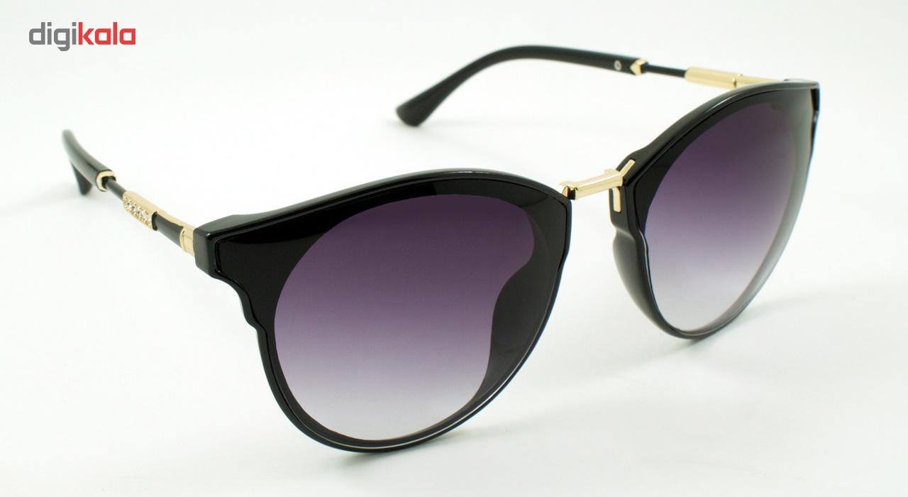 عینک آفتابی زنانه مدل Daily Black Series