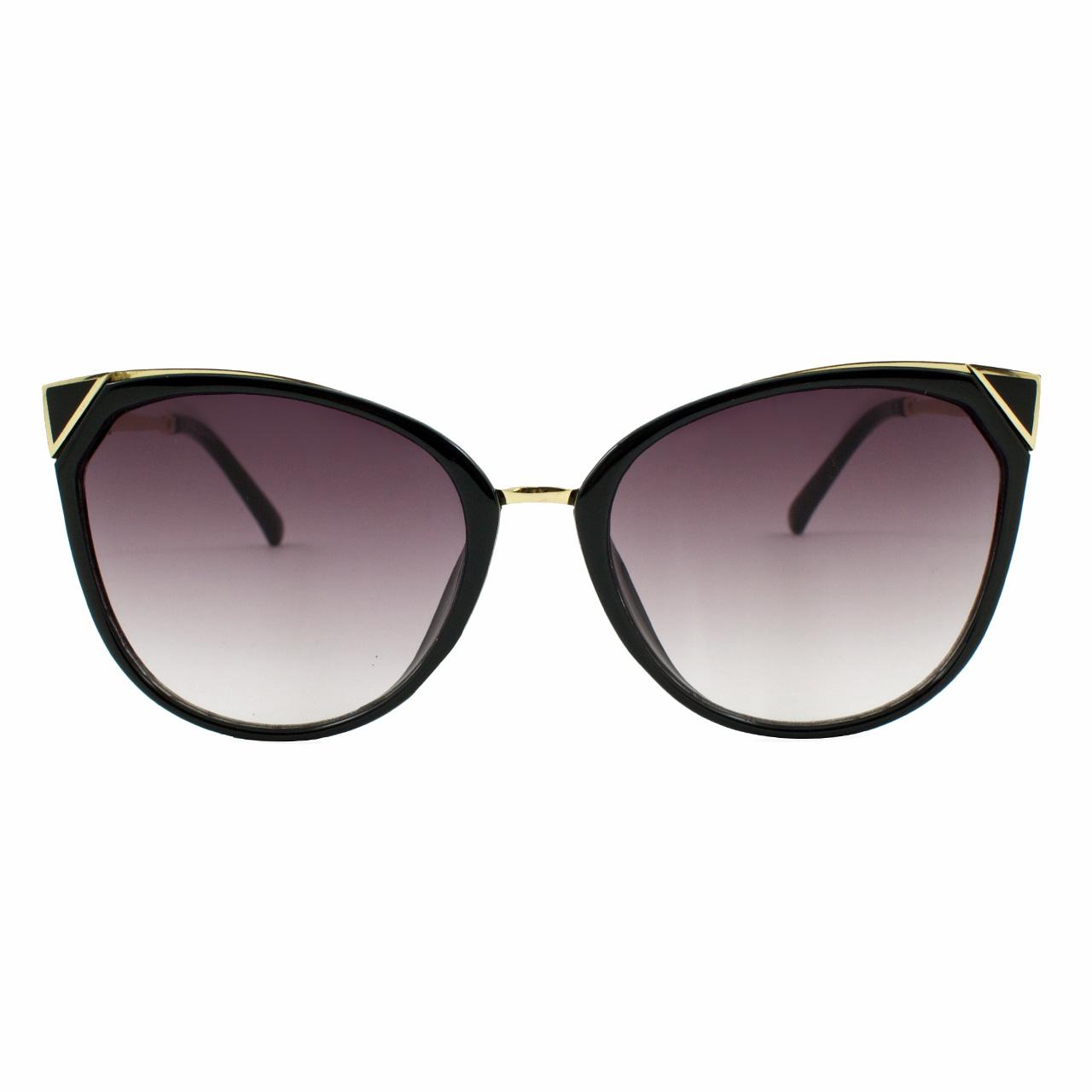 قیمت عینک آفتابی زنانه مدل True Black Shifted Edge
