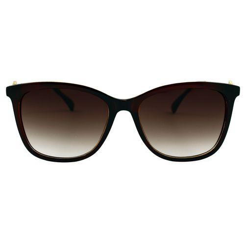 عینک آفتابی زنانه مدل Diamond Shapes Brown