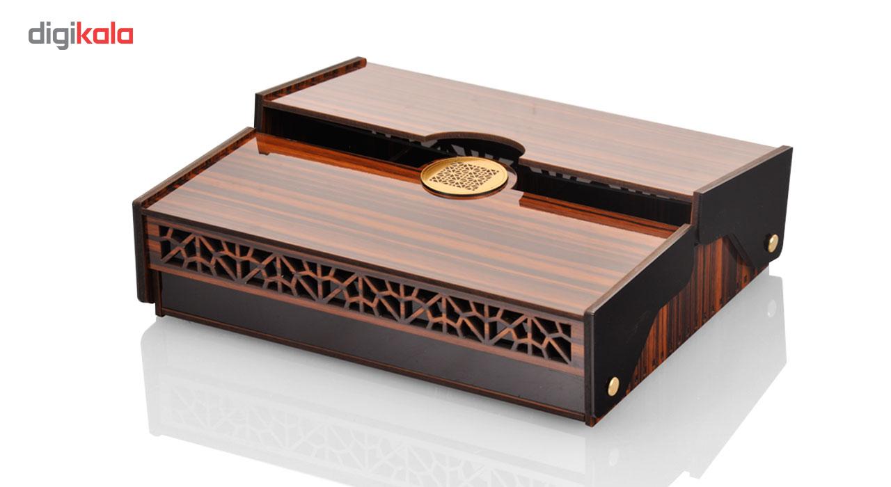 جعبه جواهرات استودیو اقطاعی مدل آبنوس