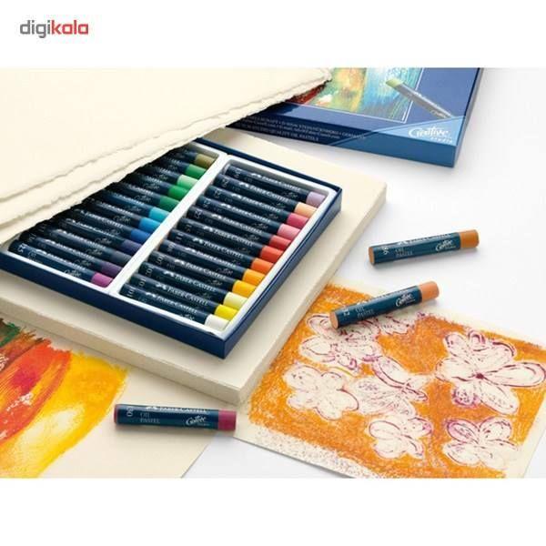پاستل روغنی 24 رنگ فابر کاستل مدل Studio Quality main 1 3
