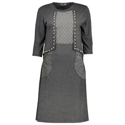 پیراهن زنانه مدل مرواریدی کد 1445