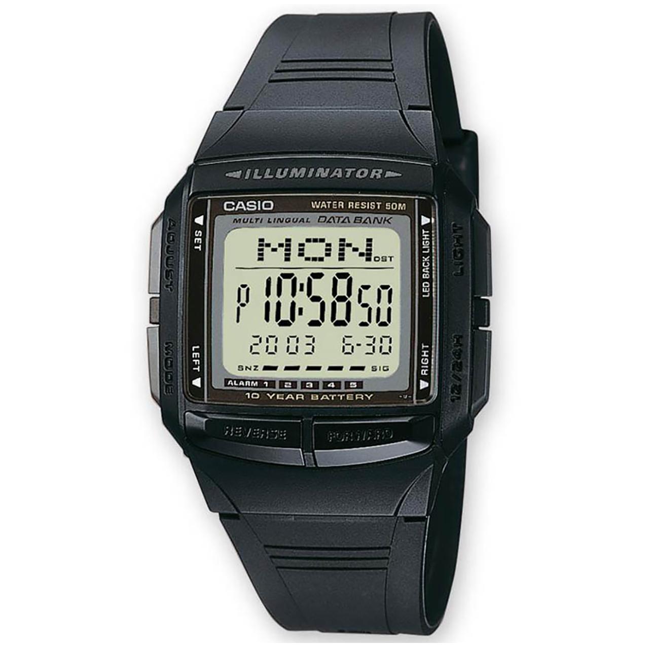 ساعت مچی دیجیتالی کاسیو مدل DB-36-1AVDF 12
