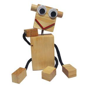عروسک چوبسی مدل H11 ارتفاع ۱۵ سانتی متر