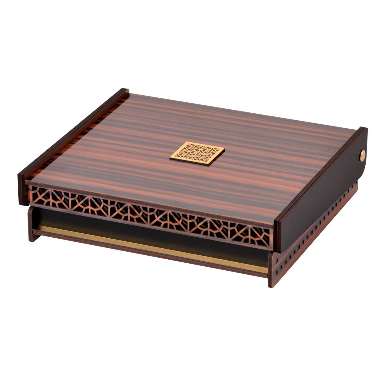 جعبه جواهرات استودیو اقطاعی مدل صدف
