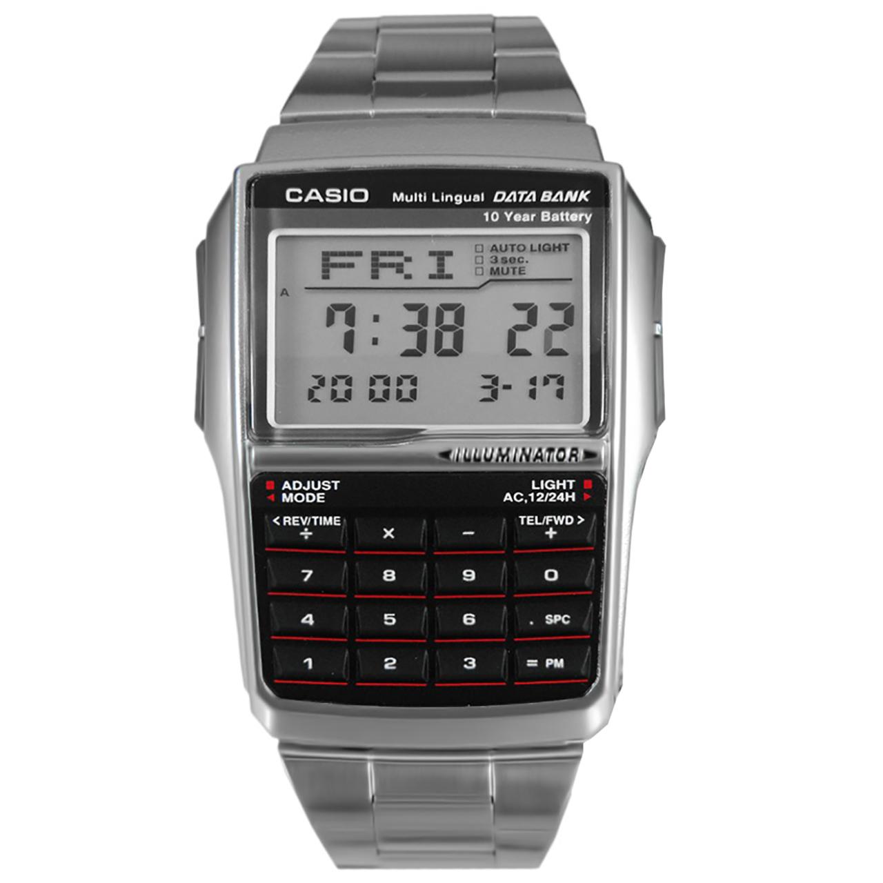 ساعت مچی دیجیتالی کاسیو مدل DBC-32D-1ADF 6