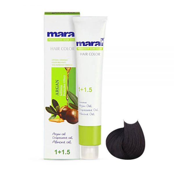 رنگ مو مارال سری طبیعی مدل مشکی شماره 1.0