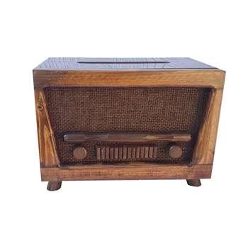 جعبه دستمال کاغذی طرح رادیو مدل E11