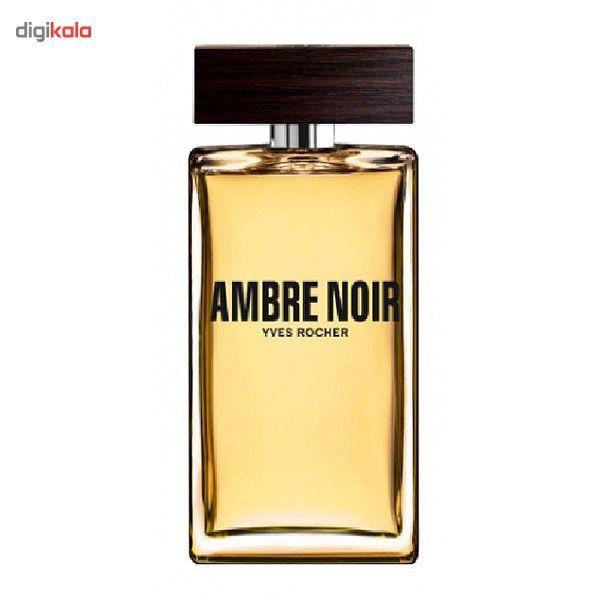 ادو تویلت ایو روشه مدل امبر نوار حجم 100 میلی لیتر مناسب برای آقایان  Yves Rocher Ambre Noir Eau D
