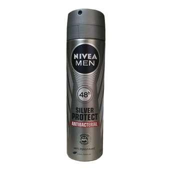 اسپری مردانه نیوآ مدل Silver Protect Antibacterial حجم 150 میلی لیتر