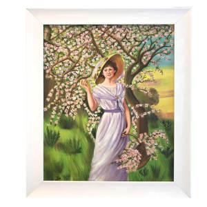 تابلو نقاشی رنگ روغن ستاره مدل بهار