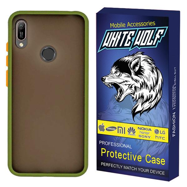 کاور وایت ولف مدل CW-MATT مناسب برای گوشی موبایل هوآوی Y9 2019