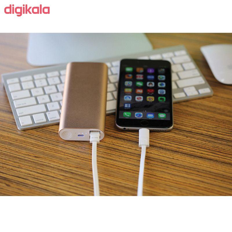 کابل تبدیل USB به لایتنینگ/microUSB آران مدل B10M6 طول 1 متر main 1 7