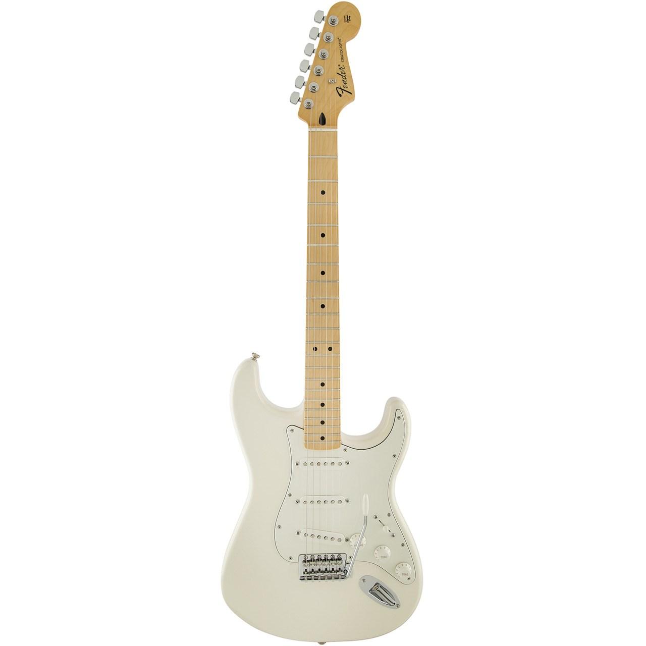 گیتار الکتریک فندر مدل Standard Stratocaster MN Arctic White