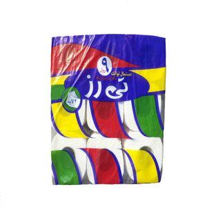 دستمال توالت مدل nine بسته 9 عددی