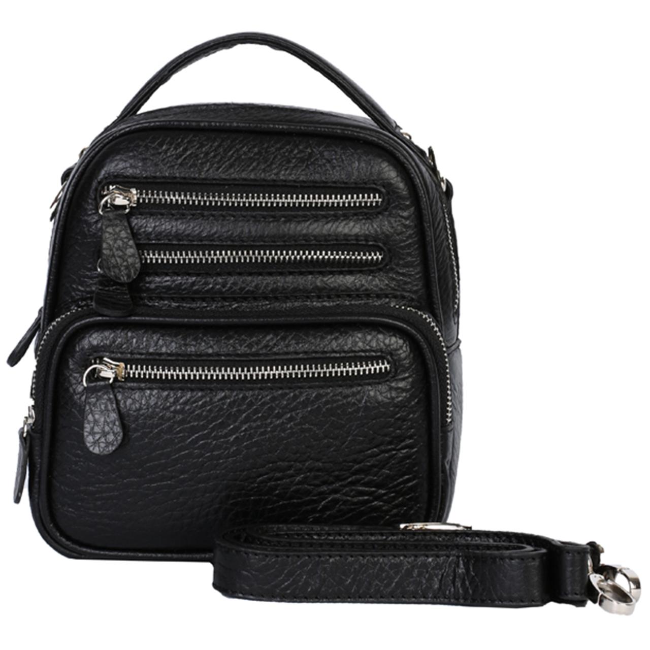 کیف دوشی رویال چرم کد W59-Black