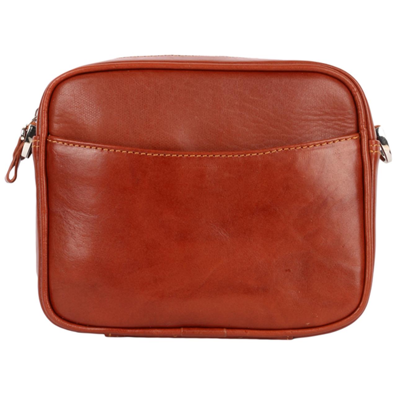 کیف دوشی رویال چرم کد W58-Brown