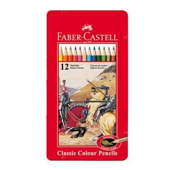 مداد رنگی 12 رنگ فابر کاستل مدل Classic