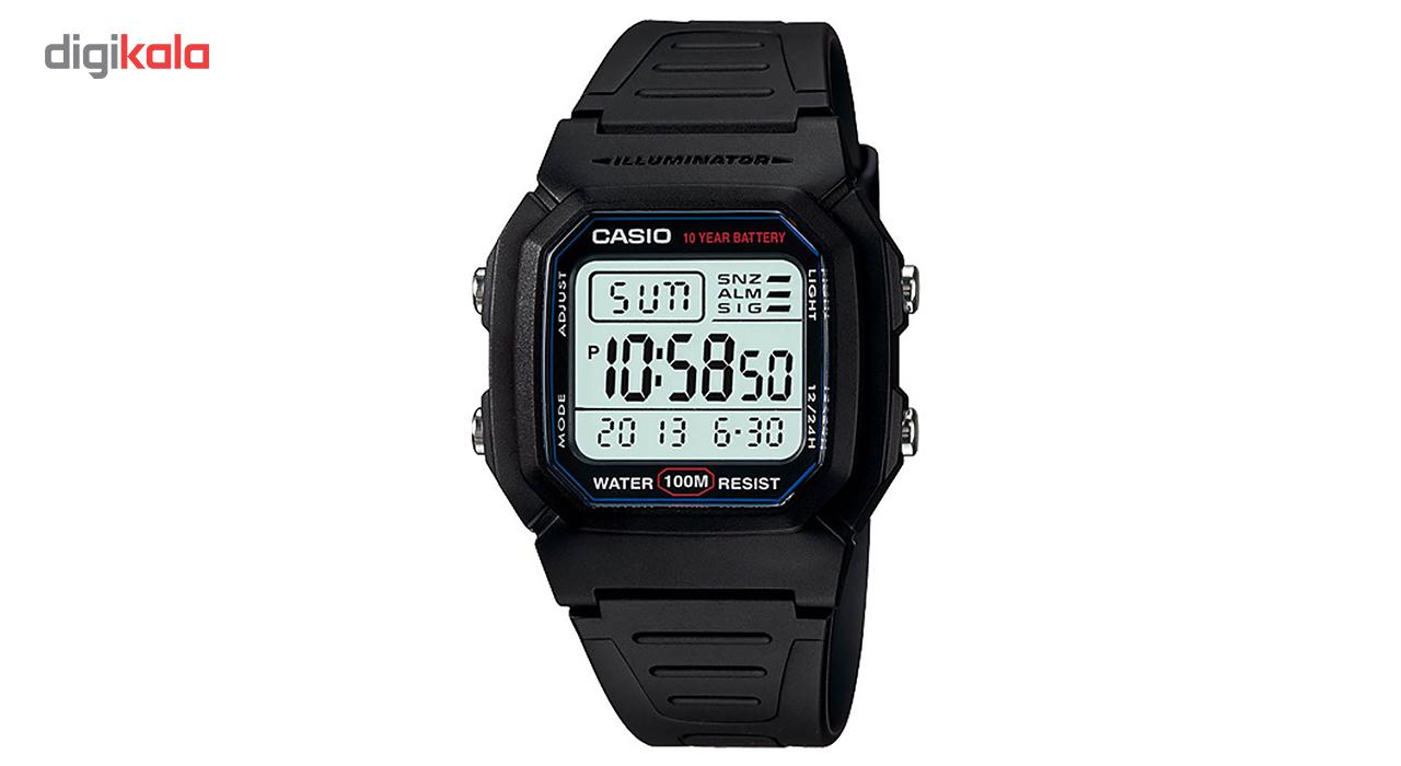 ساعت مچی دیجیتالی کاسیو مدل W-800H-1AVDF             قیمت