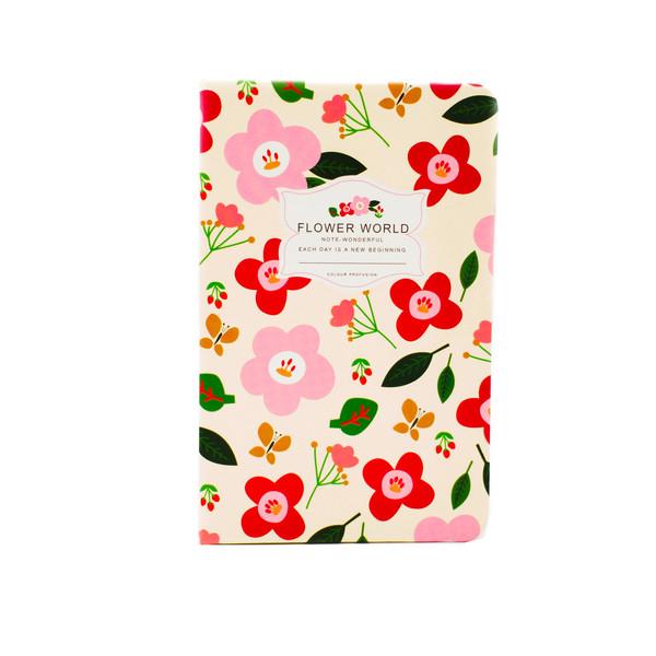 دفتر یادداشت 80 برگ فانتزی مدل Happy کد 06