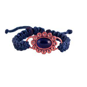 دستبند زرمس مدل گل سنگ کد41