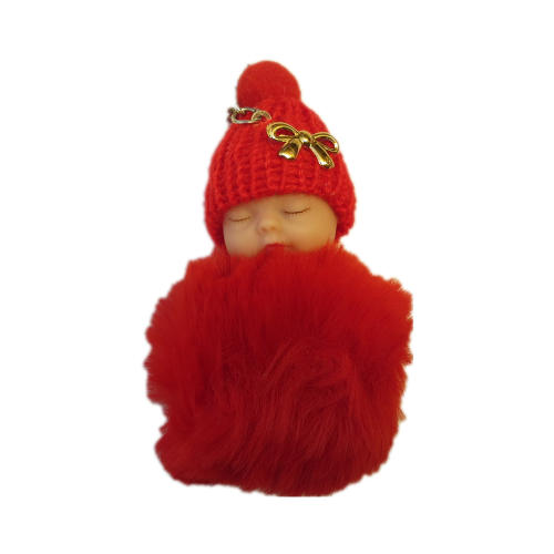 آویز - جاسوییچی - عروسک مدل نوزاد سرمایی