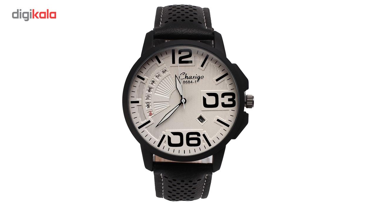 خرید ساعت مچی عقربه ای مردانه چاکسیگو مدل 8684-1