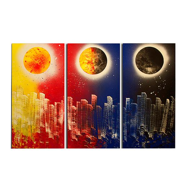تابلو دیواری 3 تکه گالری آفتاب کد AF1001
