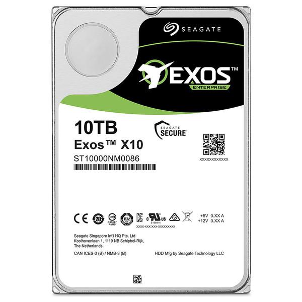 هارد دیسک اینترنال سیگیت مدل Exos ST10000NM0086 ظرفیت 10 ترابایت
