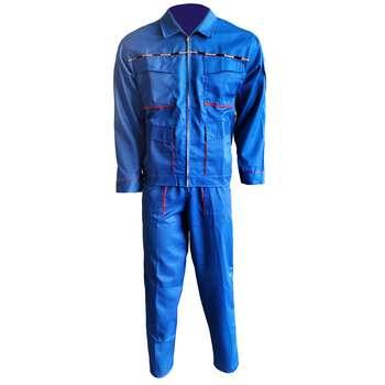لباس کار مهندسی سبلان مدل اورجینال آبی