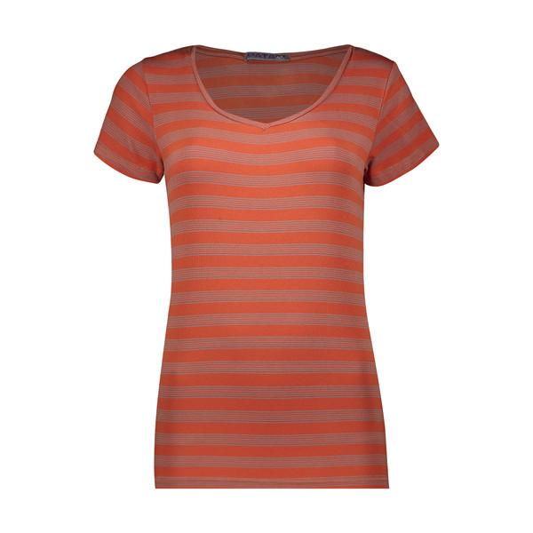 تی شرت آستین کوتاه زنانه پاتن جامه مدل 131631000072173