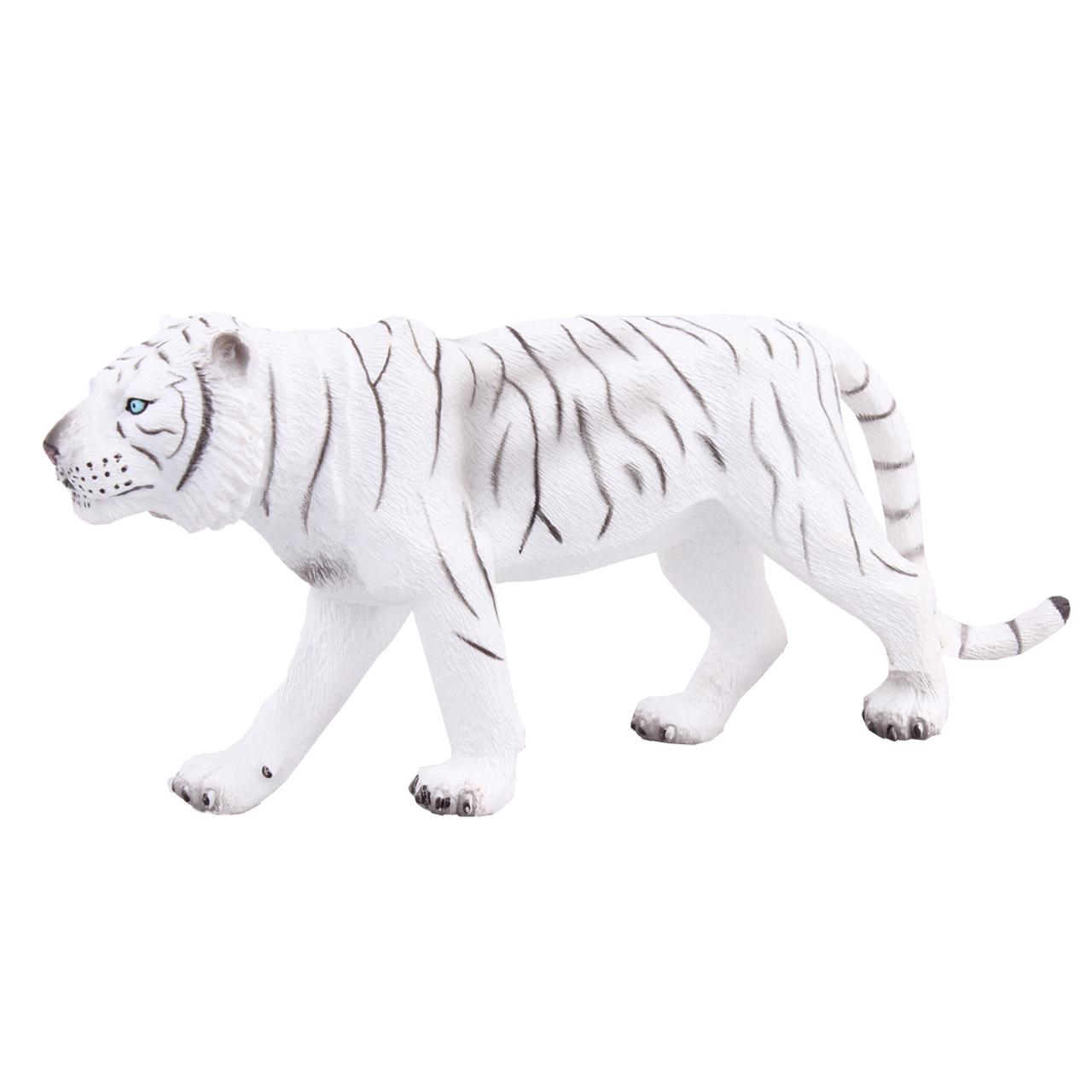 عروسک موجو مدل 9126 White Tiger  ارتفاع 7 سانتی متر