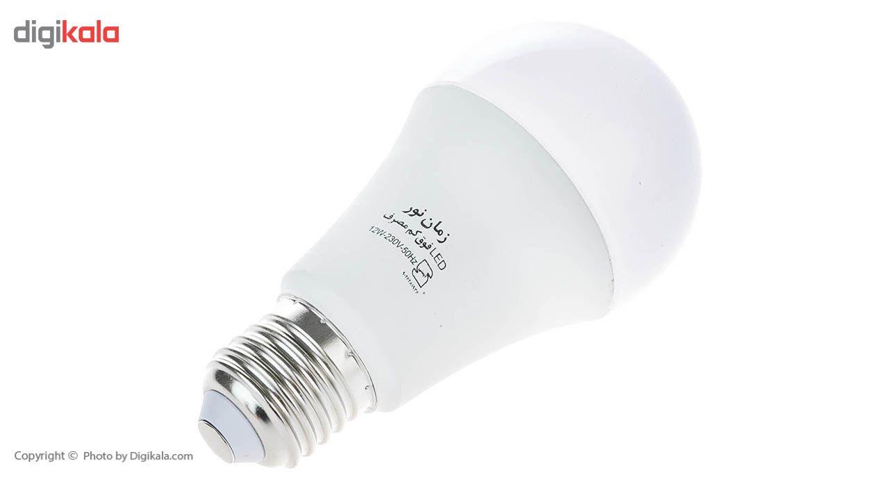 لامپ ال ای دی 12 وات زمان نور مدل Ultra-Low پایه E27 main 1 2