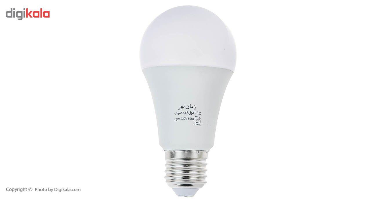 لامپ ال ای دی 12 وات زمان نور مدل Ultra-Low پایه E27 main 1 1