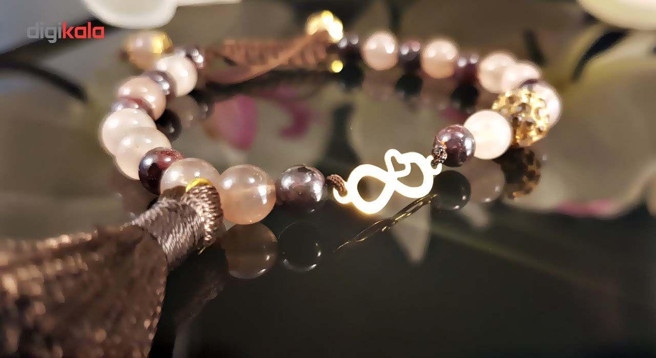 دستبند طلا 18 عیار گالری آمانژ مدل D369