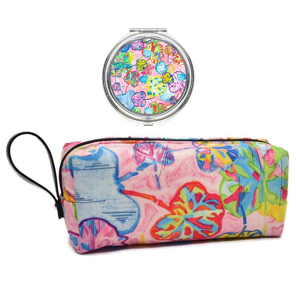 پک کیف و آینه آرایشی لومانا کد 005