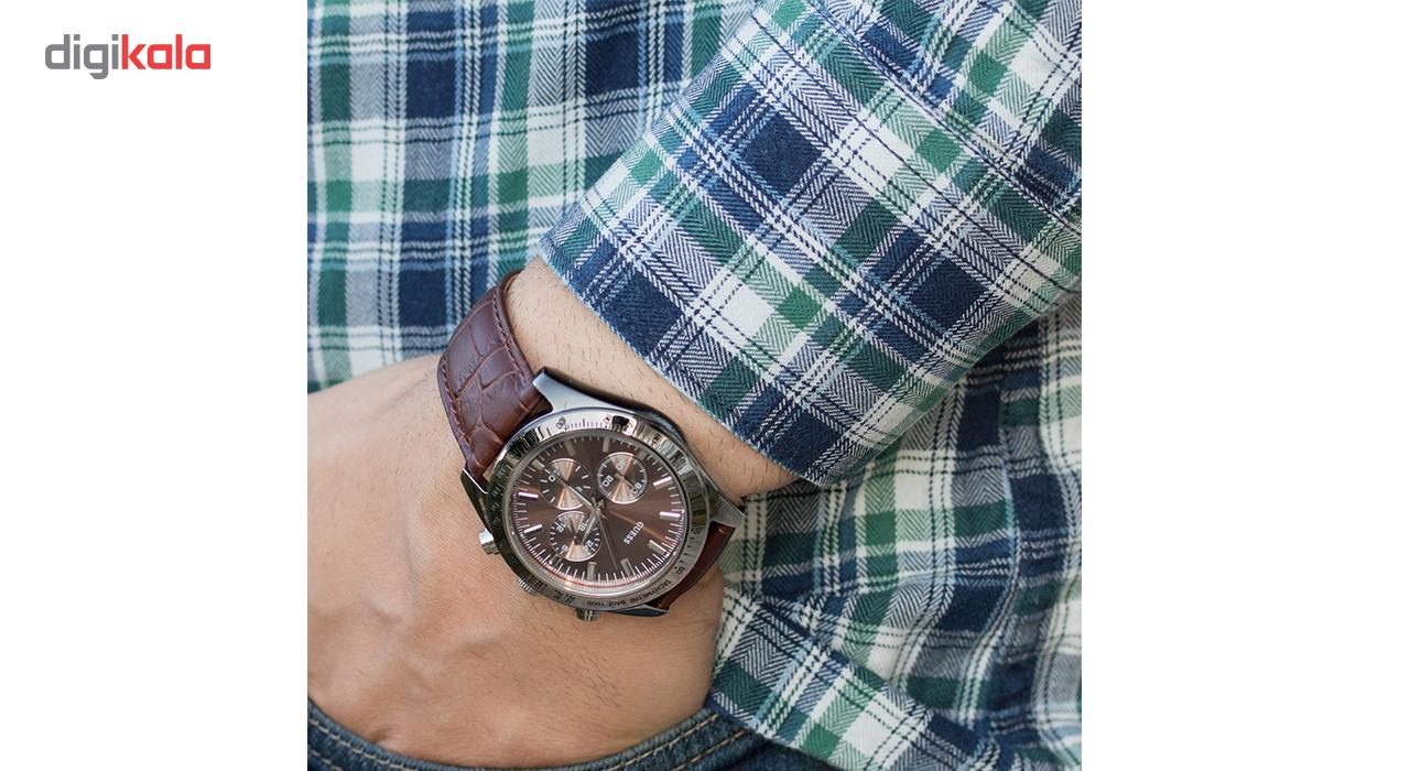 ساعت مچی عقربه ای مردانه گس مدل W12004G2