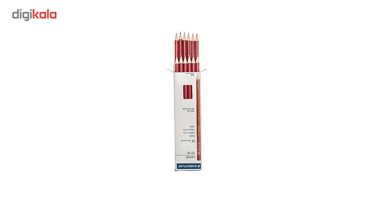 مداد مشکی استدلر مدل Camel بسته 12 عددی main 1 3