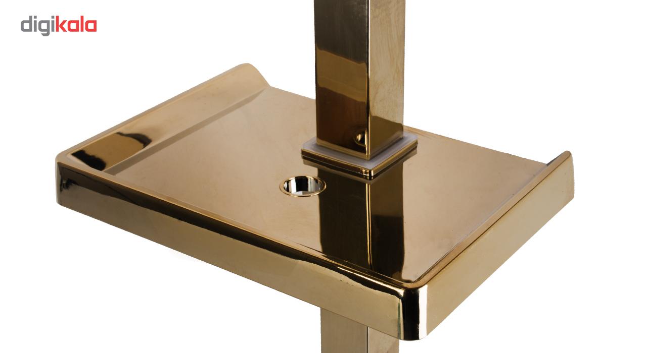 دوش حمام سلطنتی یونیورست مدل الماس فلت