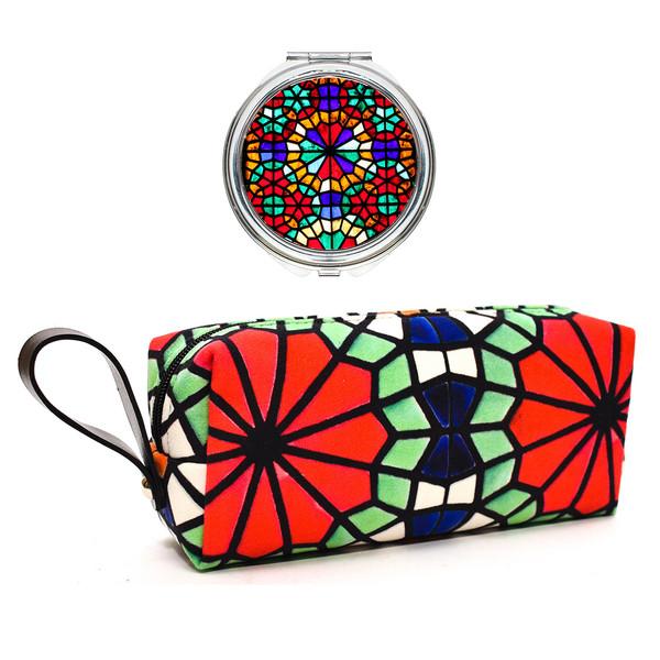 پک کیف و آینه آرایشی لومانا کد 011