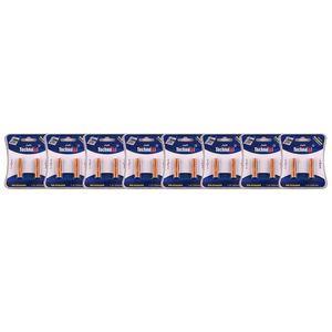 باتری نیم قلمی قابل شارژ تکنوتل مدل 65 بسته 16 عددی