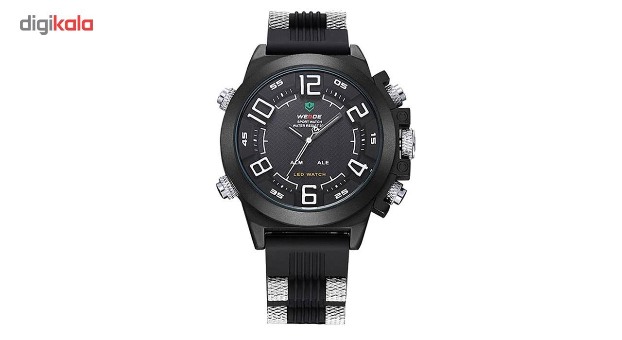 خرید ساعت مچی عقربه ای مردانه وید مدل WH5202-WHITE