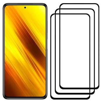 محافظ صفحه نمایش مدل FCG مناسب برای گوشی موبایل شیائومی Poco X3 بسته سه عددی