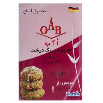 تصویر جو دوسر پرک درشت اُ آ ب مقدار 500 گرم OAB Oat Meal Larg 500gr