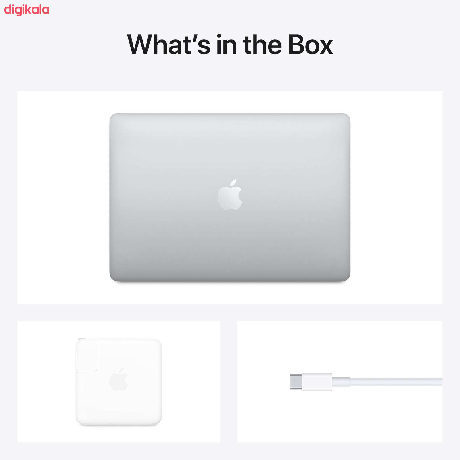 لپ تاپ 13 اینچی اپل مدل MacBook Pro MYDA2 2020 همراه با تاچ بار  main 1 4
