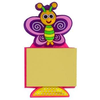 مگنت و کاغذ یادداشتی طرح پروانه کد 1-8009