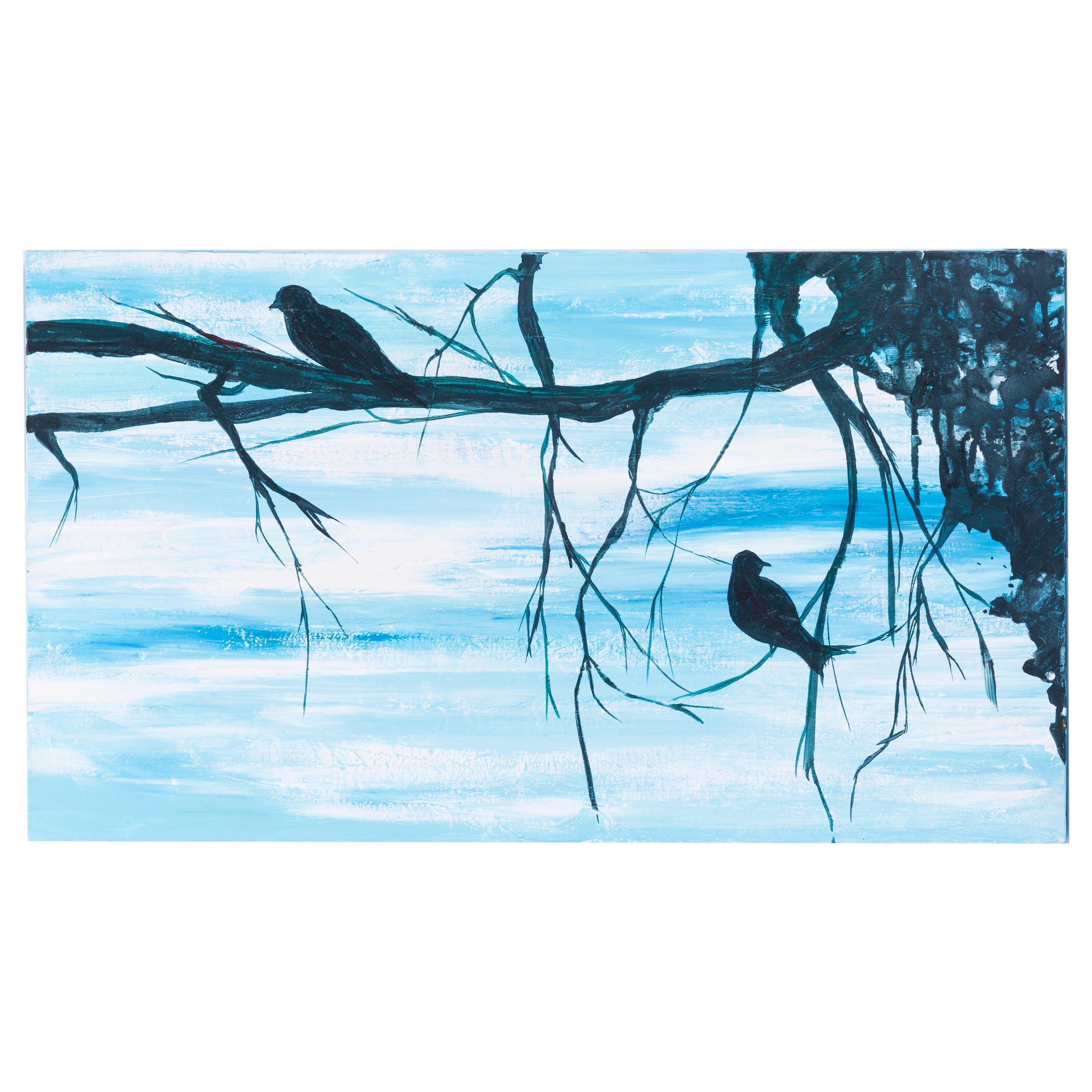 تابلو نقاشی گالری سی پرشیا طرح پرندگان کد 201323