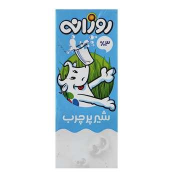 شیر پر چرب روزانه حجم 0.2 لیتر